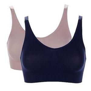 Rhonda Shear 2-Pack #9353 Lace Back Ahhlette L, 2X